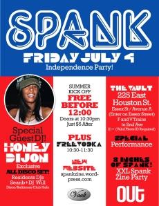 Honey Dijon Spank Party