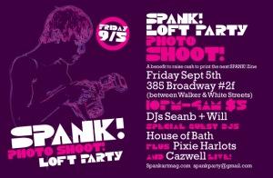 Loft Party Invite